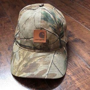 Carhartt Camo Adjustable Hat